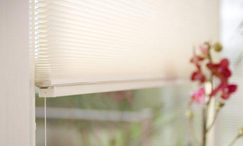 Cellular closeup of blinds