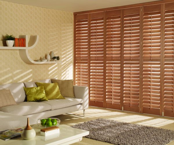 Grovewood taupe shutters