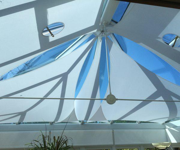 inShade made to measure roof sail