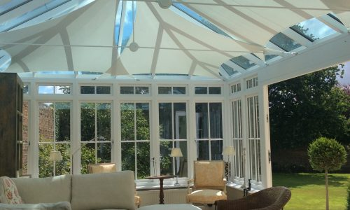 LHS Conservatory Blinds & Roof Sails