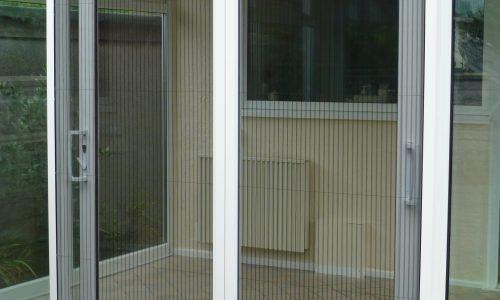 Plissefit Double Door Screen (Externally Fitted)