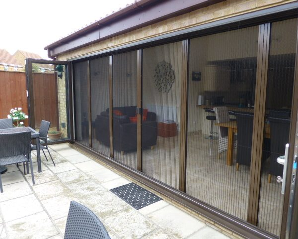 Plisse Folding Door 6 Panels