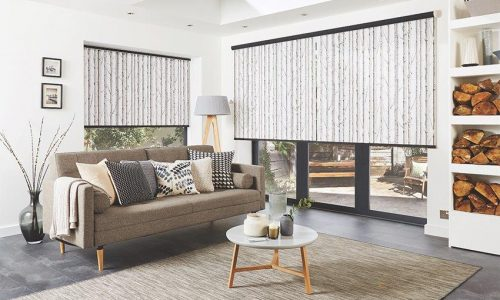 Roller Blinds Woodland Birch