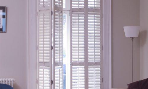 Shaftesbury full height shutter doors
