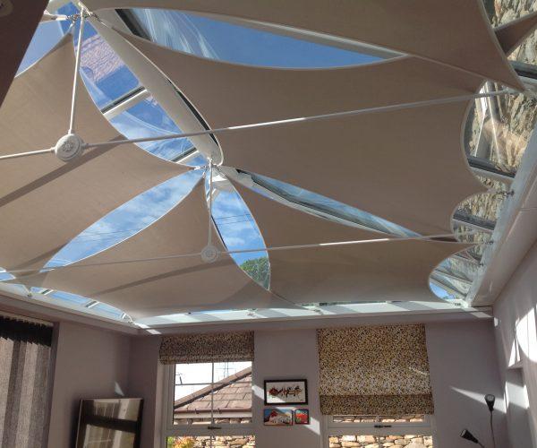 Beautiful roof sail