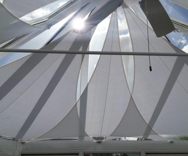 White roof sail